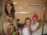 Andrzejki - Umilając czas chorym dzieciom, po raz kolejny, Wróżki z Fundacji odwiedziły dzieci