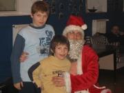 Imprezy okolicznościowe - Malowanie aniołów w Ośrodku Fundacji oraz wizyta św. Mikołaja z prezentami